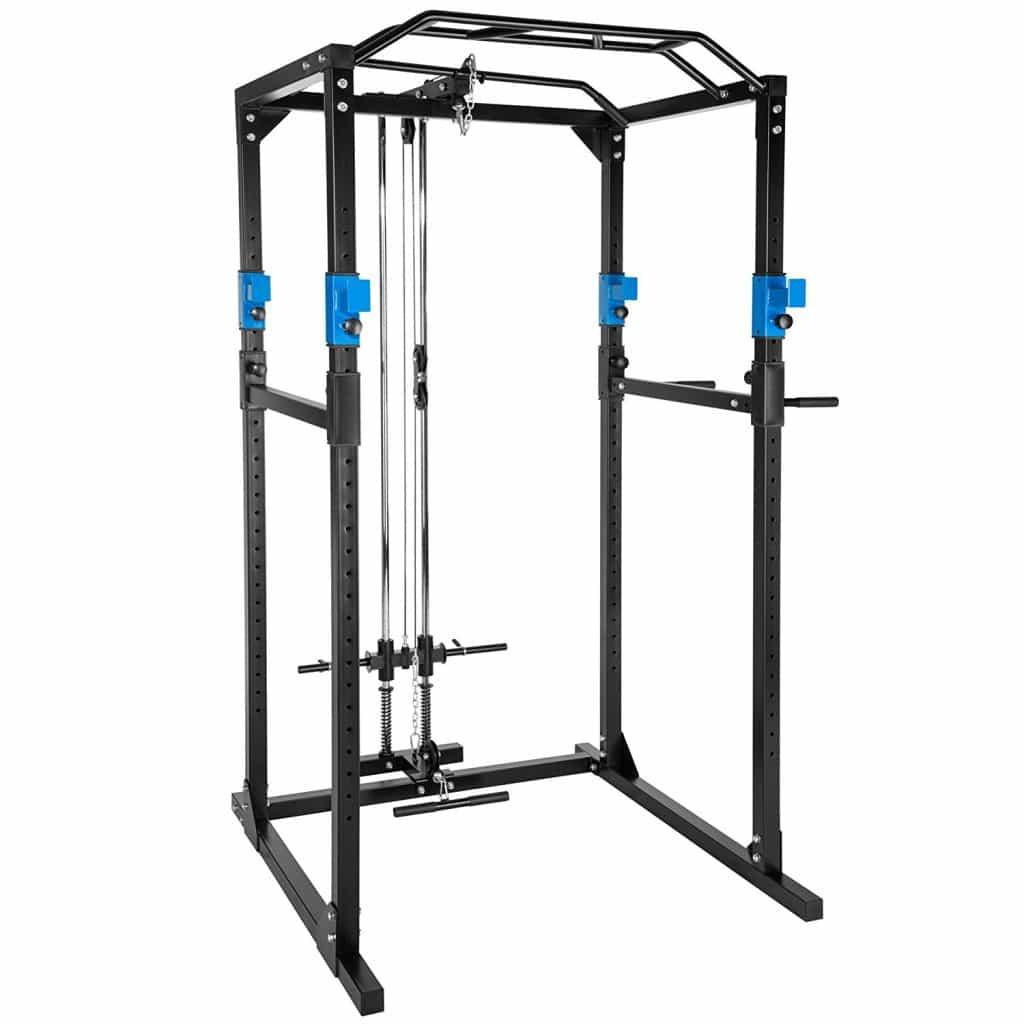 Cage à squat de musculation TecTake