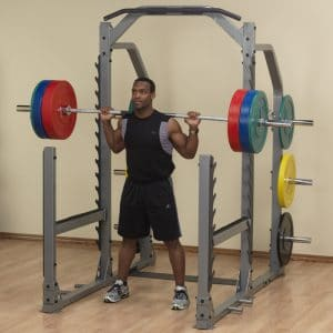 Squat avec Multi Rack SMR1000 BodySolid