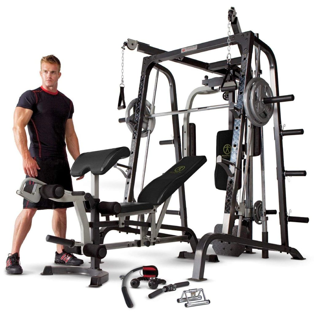Smith machine Marcy