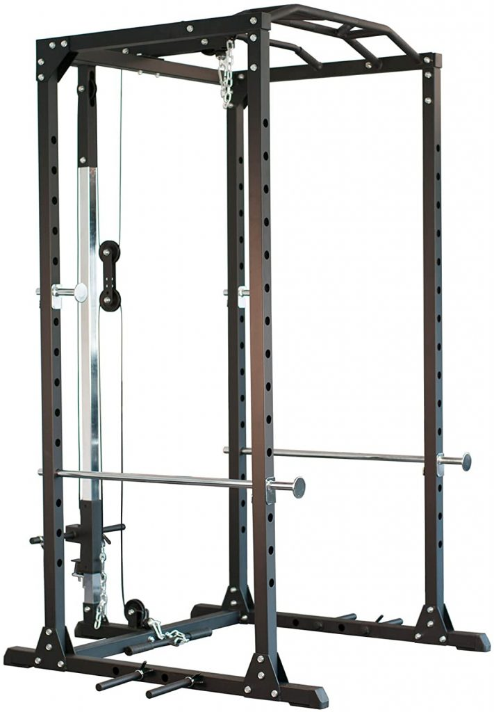 POWER RACK NEWFITNESS NE700 MIT LATZUGSTATION​