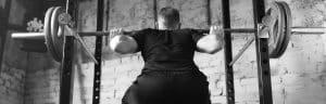 Chandelle à squat ou repose barre