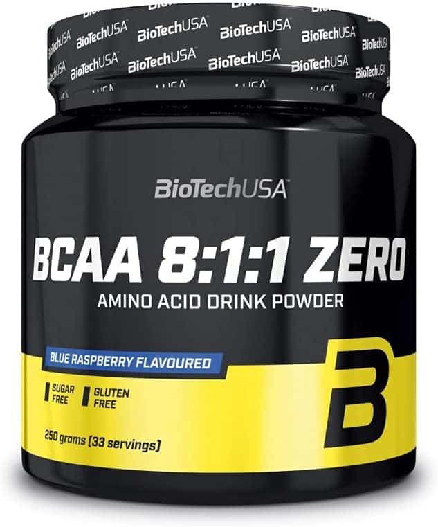 BCAA 8.1.1 Zero de Bio Tech USA