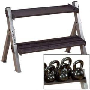 Body Solid - Rack haltère et kettlebells