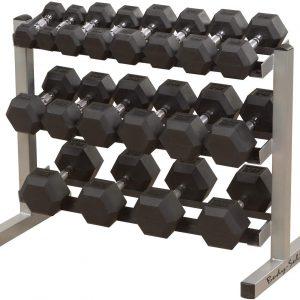 Body Solid - Rack haltères